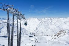 Free Cable Car In France Royalty Free Stock Photo - 10289875