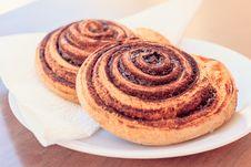 Free Cinnamon Roll, Baked Goods, Danish Pastry, Food Stock Image - 102876351
