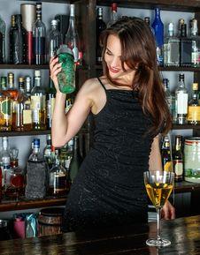 Free Drink, Distilled Beverage, Liqueur, Bar Stock Photography - 102878582