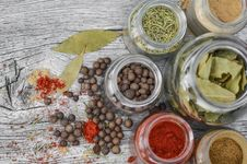 Free Spice, Ingredient, Mixed Spice, Superfood Stock Images - 102880944