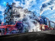 Free Transport, Rail Transport, Locomotive, Track Stock Photo - 102881700