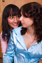 Free Two Happy Friends Girl Royalty Free Stock Images - 10293759