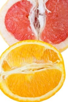 Free Grapefruit And Orange Stock Image - 10290211