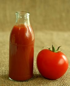 Free Tomato And Juice Stock Images - 10290384