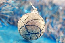 Free Christmas Baubles Royalty Free Stock Photography - 10290497