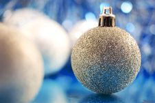 Free Christmas Baubles Royalty Free Stock Image - 10290516