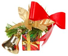 Free Christmas Gift Royalty Free Stock Photo - 10290615