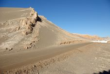 Road In The Atacama Desert Stock Photos