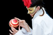 Free Masked Woman Stock Photography - 10291652