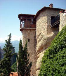 Free Holy Monasteries Of Meteora Royalty Free Stock Photo - 10291735