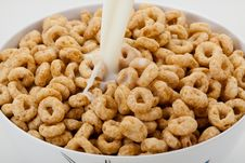 Free Cereal Rings Royalty Free Stock Photography - 10291907
