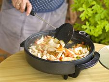 Free Cooking Paella Royalty Free Stock Image - 10292536