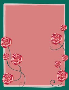 Free Rose Garden Background Stock Photography - 10292692