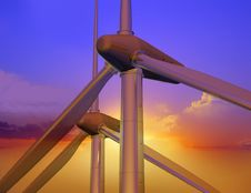 Free Energy Of Wind Stock Image - 10293841