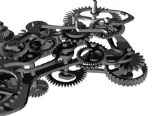 Free Mechanical Clock Stock Photo - 10293850