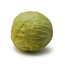 Free Cabbage Isolated Royalty Free Stock Photos - 10294168
