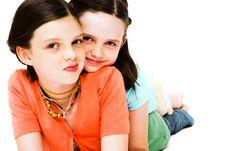 Free Girls Posing Royalty Free Stock Photography - 10294177