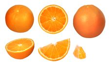 Free Orange Collection Royalty Free Stock Image - 10294246