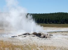 Free Yellowstone - Hot Spring Stock Photography - 10294282