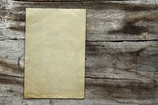 Free Vintage Paper On Wood Texture Stock Photo - 10295520