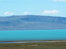 Lago Argentino Stock Photo