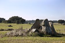 Free Dolmen Of Chamine Royalty Free Stock Photos - 10295838