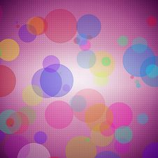 Free Abstract Colorful Circle Background Stock Photography - 10295892