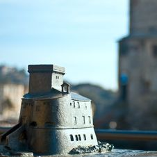 Free Rapallo S Castle Miniature Stock Photography - 10296072