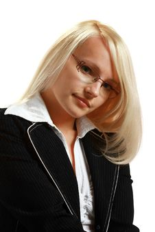 Free A Young Attractive Business Woman Royalty Free Stock Images - 10297689