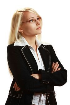 Free A Young Attractive Business Woman Stock Photography - 10297732