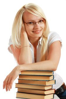 Free Female Student Portrait Royalty Free Stock Photos - 10297838