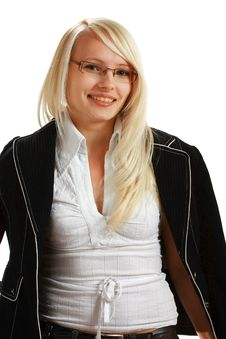 Free A Young Attractive Business Woman Royalty Free Stock Photography - 10297937