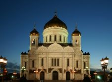 Free Cathedral Of Christ The Saviour Royalty Free Stock Images - 10297949