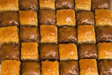 Free The Baklava Stock Photography - 10298202