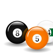 Free Pool Balls Stock Photo - 10298860