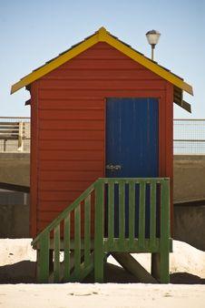 Free Lone Beach Hut Royalty Free Stock Photo - 10298965