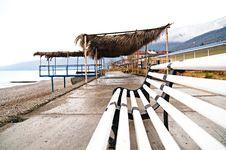 Free Winter Beach Royalty Free Stock Photos - 10299718