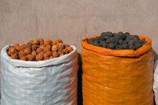 Free Sacks Of Dried Fruit Stock Images - 10299774