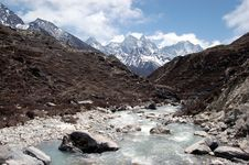 Free View On Amadablam Stock Photography - 10299892