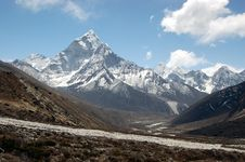 Free Landscape Of Amadablam Stock Images - 10299904