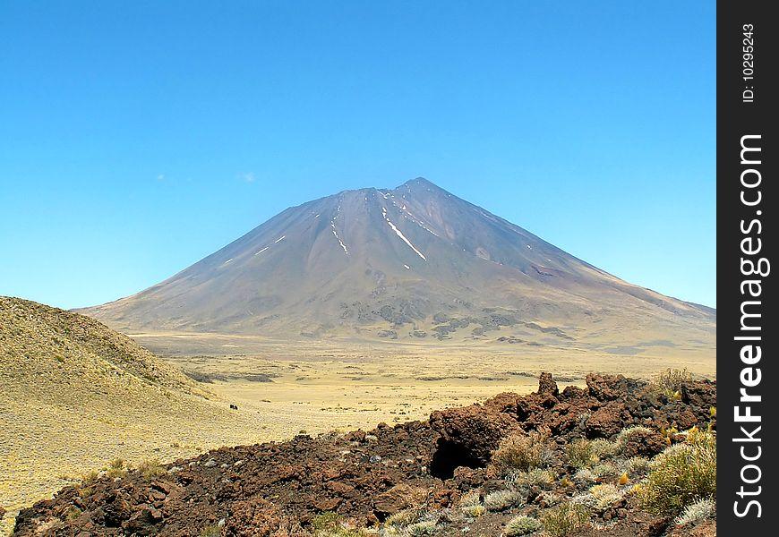 Volcano Licancábur
