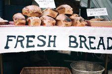 Free Baked, Baskets, Breads, Breakfast Stock Photos - 102998043