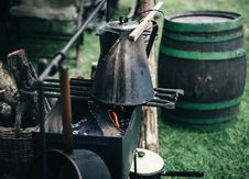 Free Barrel, Basket, Bucket, Charcoal Royalty Free Stock Images - 102998049