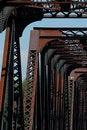 Free Train Bridge On Riviere Des Mille Iles, Canada 4 Stock Images - 1031194