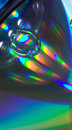 Free Drop On The CD-disk Stock Images - 1031944