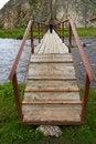 Free On The Bridge. Royalty Free Stock Image - 1035236