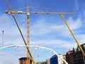 Free Construction Cranes Stock Photo - 1038380
