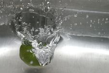 Free Lime Spashdown Stock Images - 1031184