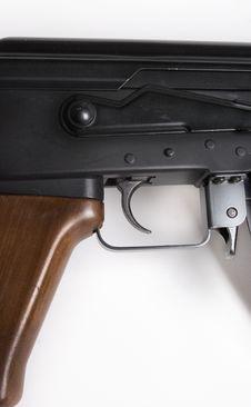 Free Ak 47 Gun Trigger Stock Photography - 1032112