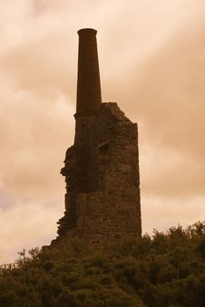 Cornish Tin Mine Royalty Free Stock Photography
